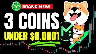 3 TOP Crypto Picks To Make You RICH!! Best Crypto To Buy Now Under $0.0001 That Isn't Shiba Inu Coin