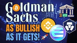 HUGE: Goldman Sachs Enters Bitcoin + Enjin Effinity, Polygon, Crypto.com, Polkadot, PAID +Binance