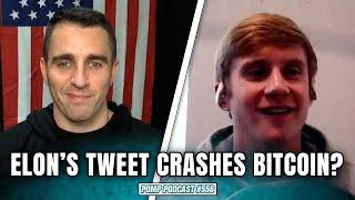 Explaining What Happened to Bitcoin When Elon Tweeted I Will Clemente I Pomp Podcast #556