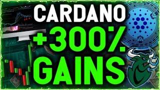 CARDANO PRINTING MOST IMPORTANT PATTERN TO SEND IT SKYROCKETING TO 300% GAINS