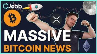 MASSIVE BITCOIN NEWS! - INCOMING ADMINISTRATION WILL HAVE HUGE EFFECTS ON BITCOIN PRICE!!!