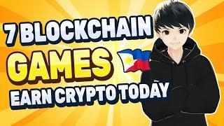 Blockchain Games You Can Play Now | Play to Earn Crypto Games | Tagalog