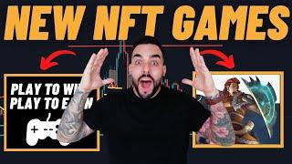 Top 10 Upcoming NFT Crypto Games!! Get in Early For 100X Gains