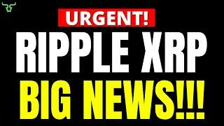 Ripple XRP BIG NEWS!!! WATCH WITHIN 24HRS!
