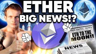 """Ethereum """"Moon Mission"""" Next WEEK!? Big News Is Coming…"""