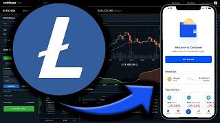How To Buy Litecoin (LTC) on Coinbase App | Buy Litecoin in 2 Minutes | Beginners Tutorial