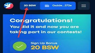 Claim Free BISWAP ($20/Perhari) || dont miss project airdrop