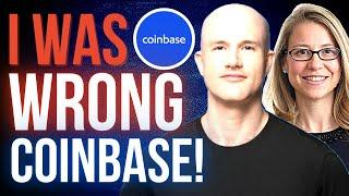 I WAS WRONG ABOUT COINBASE STOCK!