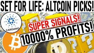10000% PROFIT ALTCOIN PICKS! CHANGE YOUR LIFE FOREVER! $70k BITCOIN NEXT EXPLOSIVE MOVE! DOGE PUMP!