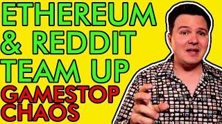 BREAKING! REDDIT PARTNERS WITH ETHEREUM! GAMESTOP CHAOS RUINS HEDGE FUND! [Crypto News 2021]