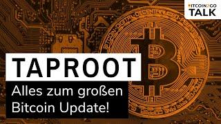 DAS GROßE BITCOIN UPDATE 2021 - Taproot im Check