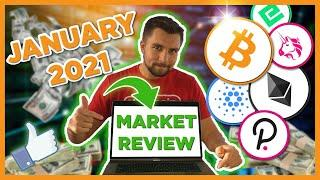 January 2021 Bitcoin Ethereum Cryptocurrency Market REVIEW!