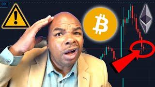 BITCOIN & ETHEREUM WARNING!!!! A FAKE-OUT BREAKOUT?!!?!