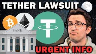 CRYPTO NEWS - Tether Lawsuit and Banks Fight Bitcoin
