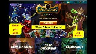 Splinterlands Low Investment Play to Earn Game 500php lang puhunan | How to play Splinterlands