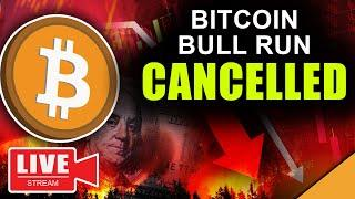 Bitcoin Bull Run Cancelled (MASSIVE Ethereum Price Dump)