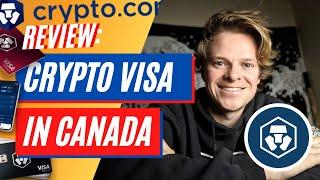 Crypto.com VISA CARD & Exchange Review For CANADA