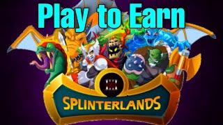 Splinterlands Play to Earn | How to Start | Blockchain Game (Tagalog)