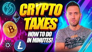 How To Do Crypto Taxes In Minutes! (The Best Crypto Tax Software!)