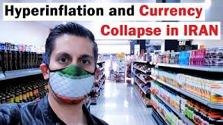 Currency COLLAPSE and Hyperinflation in Iran (what it looks like)