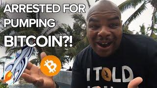 OMG!!! I WAS ALMOST ARRESTED FOR PUMPING BITCOIN AND ETHEREUM?  [funny story with my trades]