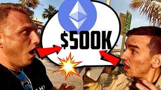 ETHEREUM WILL HIT $500'000!!!!!!!? SOUNDS CRAZY!? WATCH THIS!!!!!!!!!!