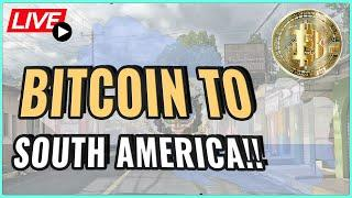 Bitcoin officially legal tender in El Salvador! Is Paraguay next? + IRS news! Coffee N Crypto Live