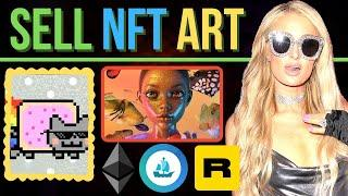 How To Sell NFT Art If You're Not Famous (Yet)
