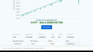 faucetpay multiply auto Dice Trick 10000 rolls live take profit .002Btc   Free Bitcoin   Crypto hack