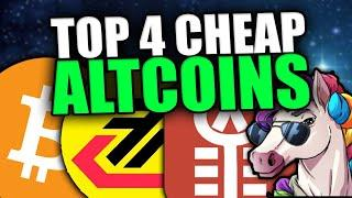 TOP 4 ALTCOINS FOR MASSIVE GAINS   Altcoin Buying Opportunities