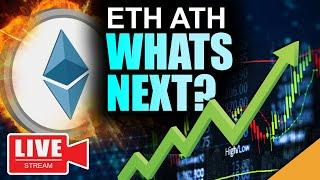 Ethereum Price TOPS $1400!!! (Imminent Move For Bitcoin & ETH)
