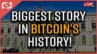 #BitcoinDay Will Be In HISTORY BOOKS! The BIGGEST Story In Bitcoin HISTORY! Coffee N Crypto LIVE