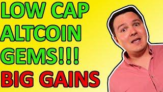 TOP 5 ALTCOINS TO BUY FOR BIG GAINS RIGHT NOW! 100X LOW CAP GEMS [Daily Crypto News 2021]