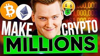 HOW TO BECOME A CRYPTO MILLIONAIRE 2021!!! Exact steps to take TODAY