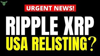 Ripple XRP You'll Never Believe This!!! Get Ready To Buy XRP In The USA Soon!