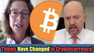 "Things Have Changed For Cryptocurrency in 2021! | Fidelity CEO and Jim Cramer Say YES: ""Buy Bitcoin"""