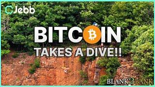 BITCOIN TRAIN FLYS OFF CLIFF!! - WHAT HAPPENS NEXT FOR BITCOIN?? - Blank2Bank