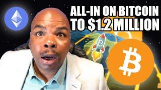 THIS NEWS WILL HAVE YOU ALL IN ON BITCOIN TO $1.2 MILLION!!!!