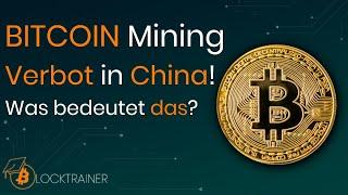 BITCOIN Crash durch Mining Verbot in China & Tether FUD?!