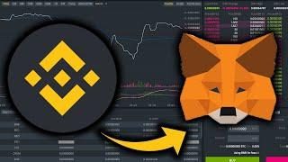 How To Connect MetaMask to Binance Smart Chain | Send BNB to MetaMask on iPhone
