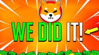 SHIBA INU COIN HOLDERS GET READY! THIS IS ABOUT TO HAPPEN TO SHIB! -  Token Price Prediction