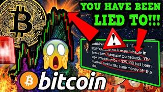 EMERGENCY!!! BITCOIN DUMPING NOW!!! YOU HAVE BEEN LIED TO!!!!! [Do This Right Now]