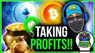 A PRO TRADERS STRATEGY FOR TAKING CRYPTO PROFITS!
