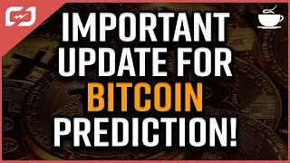 IMPORTANT UPDATE On Bitcoin Price Prediction! Next Days Are Very Important! #CryptoEspresso
