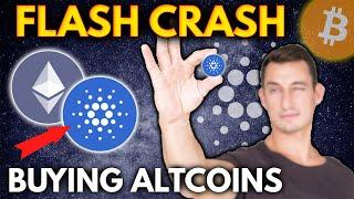 CRYPTO FLASH CRASH!! ALTCOINS I'M BUYING THE DIP | CARDANO (ADA) vs ETH vs BTC vs BNB