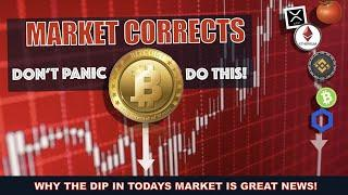 3 REASONS WHY THE BITCOIN / CRYPTO MARKET FELL AND WHY IT DOESN'T MATTER.