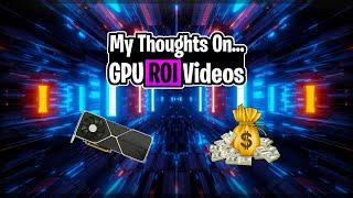 Thoughts on ROI Videos   Crypto Thoughts