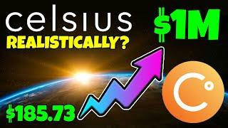 CELSIUS NETWORK - COULD $185 OF CEL TOKEN MAKE YOU A MILLIONAIRE... REALISTICALLY???
