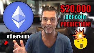 Raoul Pal Explains How 1 Ethereum Could Reach OVER $20,000 Per Coin. EXPLOSIVE 2021 Prediction