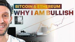 WHY I AM EXTREMELY BULLISH ON BITCOIN & ETHEREUM | Charting with Scott Melker